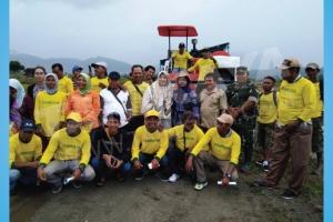 Pelatihan Dan Perawatan Combine Harvester MEGATRON HT88 Di Provinsi Maluku Utara