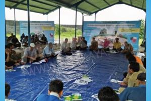 Pelatihan dan Uji Coba Mesin Rice Transplanter di Kab.Magetan, Kab. Madiun 28 November 2017