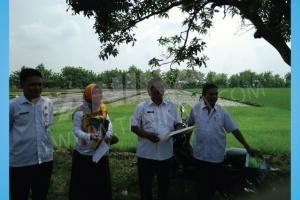 Pelatihan dan Uji Coba Mesin Rice Transplanter di Kabupaten Nganjuk 6 Desember 2017