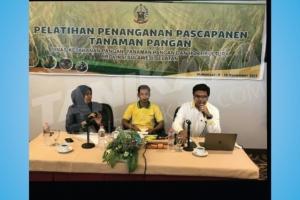 Pelatihan Penanganan Pascapanen Tanaman Pangan Di Makasar 9 - 12 November 2017