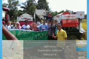 Pelatihan Pengembangan Kompetensi Petugas Pengelolaan Sarana Pasca Panen Tanaman Pangan Sumatera Selatan