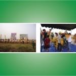 Corn Sheller TANIKAYA Dalam Panen Raya dan Demo Alat Pasca Panen Jagung di Lahan Rawa Lebak Tapin